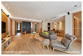 2018精选93平米三居客厅日式装饰图