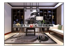 2018精选新古典三居书房装饰图片欣赏