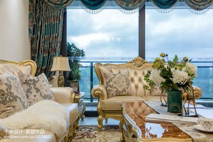 悠雅309平欧式样板间客厅装饰图片客厅
