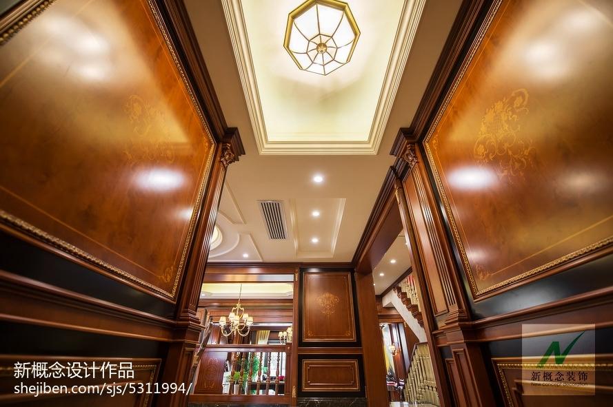 精选111平米美式别墅玄关装修设计效果图片玄关美式经典玄关设计图片赏析