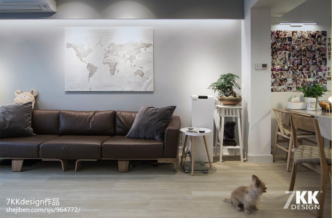 悠雅80平日式二居客厅设计美图客厅日式客厅设计图片赏析