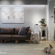 悠雅80平日式二居客厅设计美图