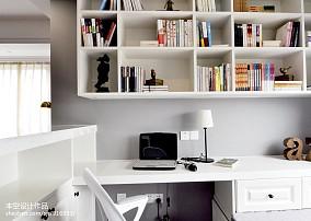精美美式二居书房装饰图