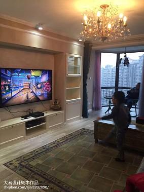 美式客厅木纹地板砖