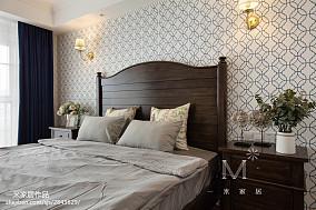 精美89平东南亚三居卧室实景图片
