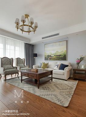 热门106平米三居客厅东南亚装修设计效果图片欣赏
