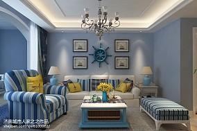 地中海客厅家具图片