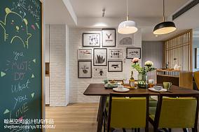 热门面积114平复式餐厅北欧装修设计效果图片