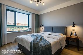 2018116平米北欧复式卧室装修效果图片大全