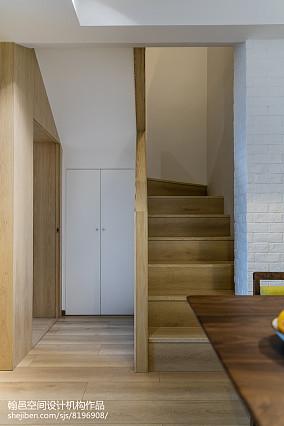 北欧风格复式楼梯设计图片