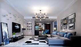 热门97平米三居客厅简约装修效果图