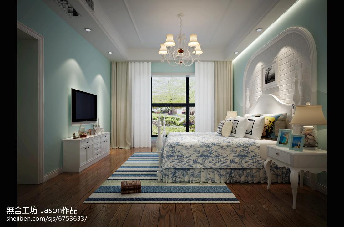 热门别墅儿童房中式实景图片卧室中式现代卧室设计图片赏析