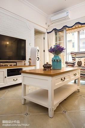 明亮24平美式小户型客厅设计案例