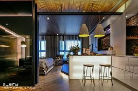 现代二居吧台设计图片