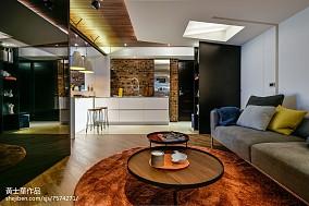 2018面积84平现代二居客厅装修欣赏图