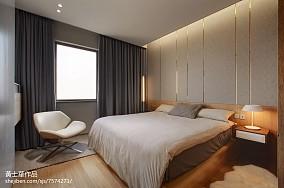 现代风格二居卧室设计图