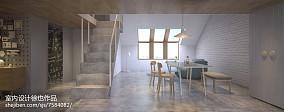 45平米现代公寓吧台装修图片