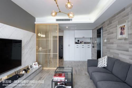 第二步:请为图片添加描述客厅电视背景墙81-100m²潮流混搭家装装修案例效果图