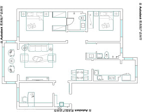简约公寓设计效果图大全欣赏