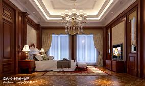 320平大别墅欧式风格客厅装修效果图