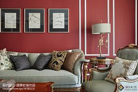 平米三居客厅欧式装修图客厅欧式豪华设计图片赏析