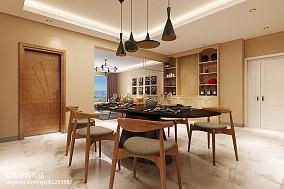 2018精选面积143平四居餐厅装修设计效果图片大全