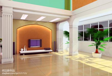平米欧式复式客厅装修图片客厅