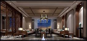 热门中式别墅客厅装饰图片