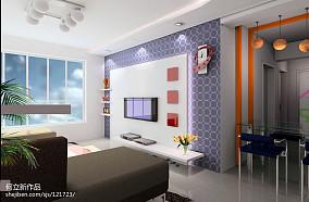 精美简约复式客厅装饰图