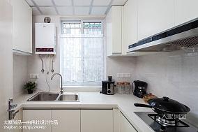 2018精选80平米二居厨房简约装修图片大全