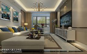 现代中式大厅灯图片