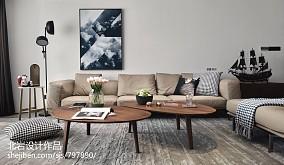 明亮145平简约四居客厅设计美图四居及以上现代简约家装装修案例效果图