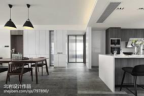 大气129平简约四居设计效果图四居及以上现代简约家装装修案例效果图