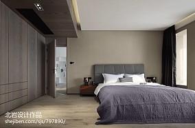 平简约四居卧室装修图四居及以上现代简约家装装修案例效果图