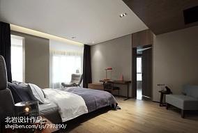 大气101平简约四居卧室效果图片大全四居及以上现代简约家装装修案例效果图