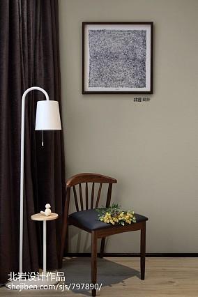 浪漫116平简约四居卧室装修案例四居及以上现代简约家装装修案例效果图
