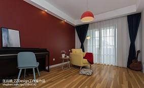 2018面积118平复式休闲区北欧装修图客厅北欧极简设计图片赏析