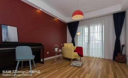 2018面积118平复式休闲区北欧装修图客厅