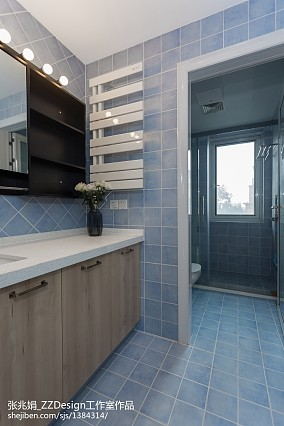 2018精选面积124平复式卫生间北欧装修图片卫生间北欧极简设计图片赏析