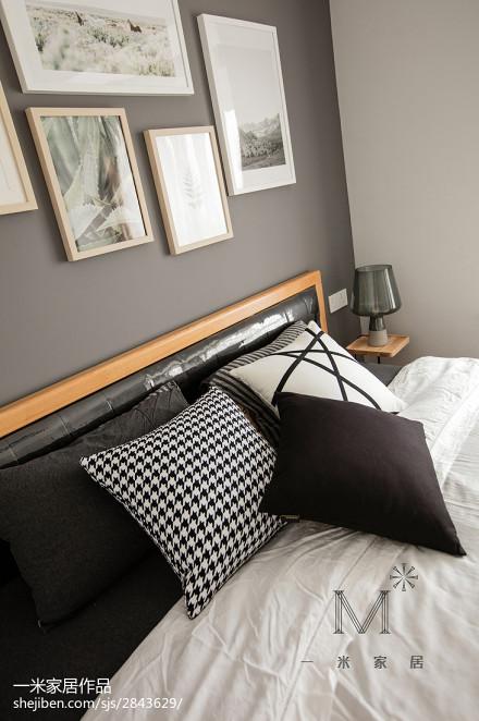 精美北欧三居卧室装饰图