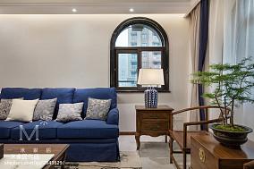 精选面积110平混搭四居客厅装修效果图片欣赏