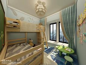 日式现代风格儿童房装修图片