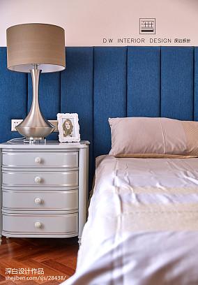 【深白设计】巴黎の约定卧室美式经典设计图片赏析