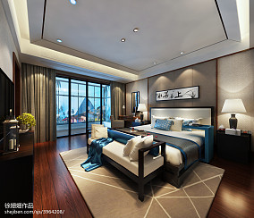 精选复式卧室中式设计效果图