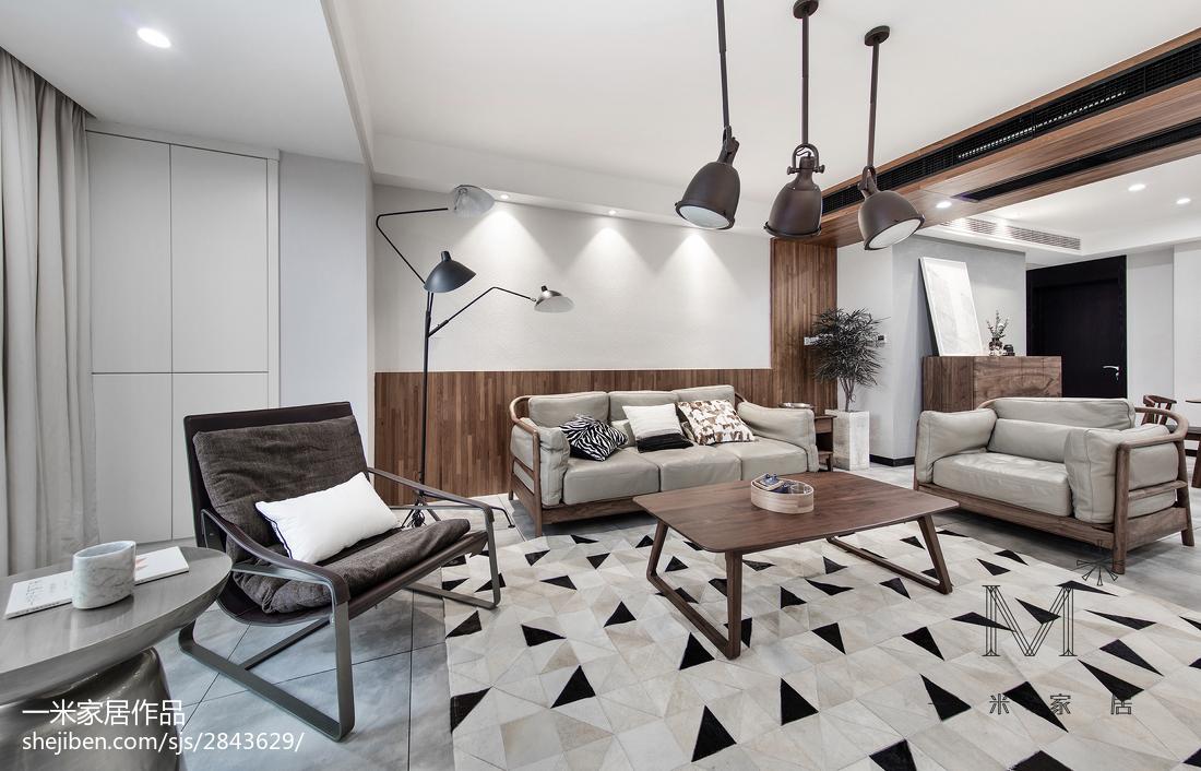精美混搭3室客厅装修设计效果图片欣赏101平客厅潮流混搭客厅设计图片赏析