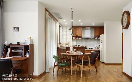 精选120平米四居餐厅日式装修欣赏图片厨房