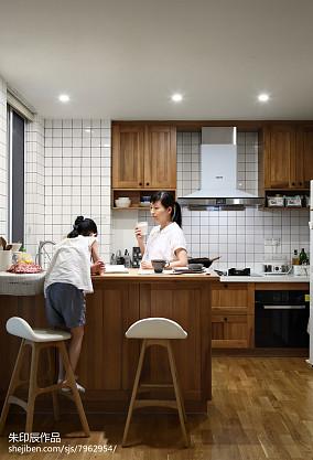 2018精选四居厨房日式装修欣赏图