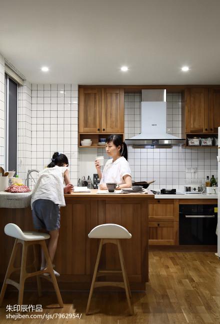 2018精选四居厨房日式装修欣赏图餐厅