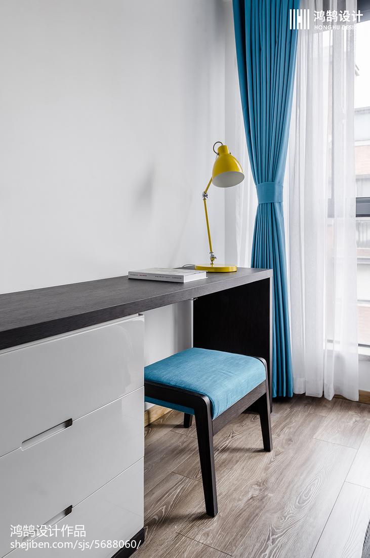 平米二居卧室北欧装修图卧室北欧极简卧室设计图片赏析