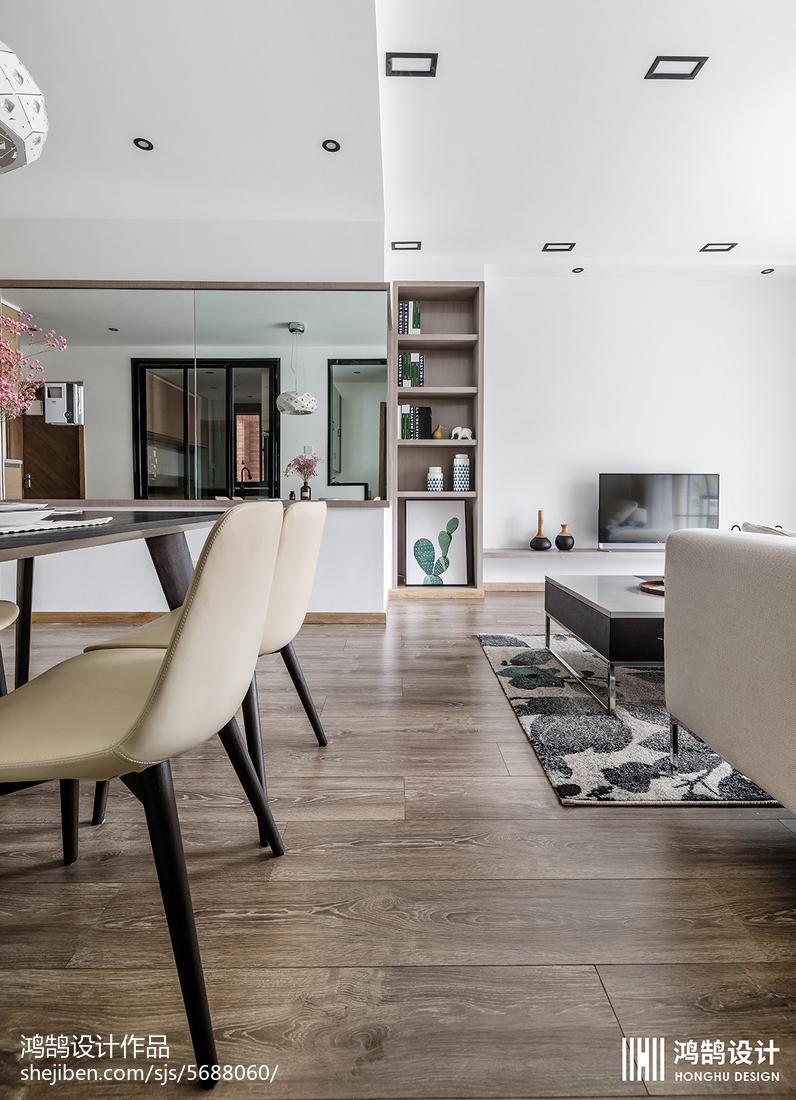 精选面积90平北欧二居餐厅装修设计效果图功能区